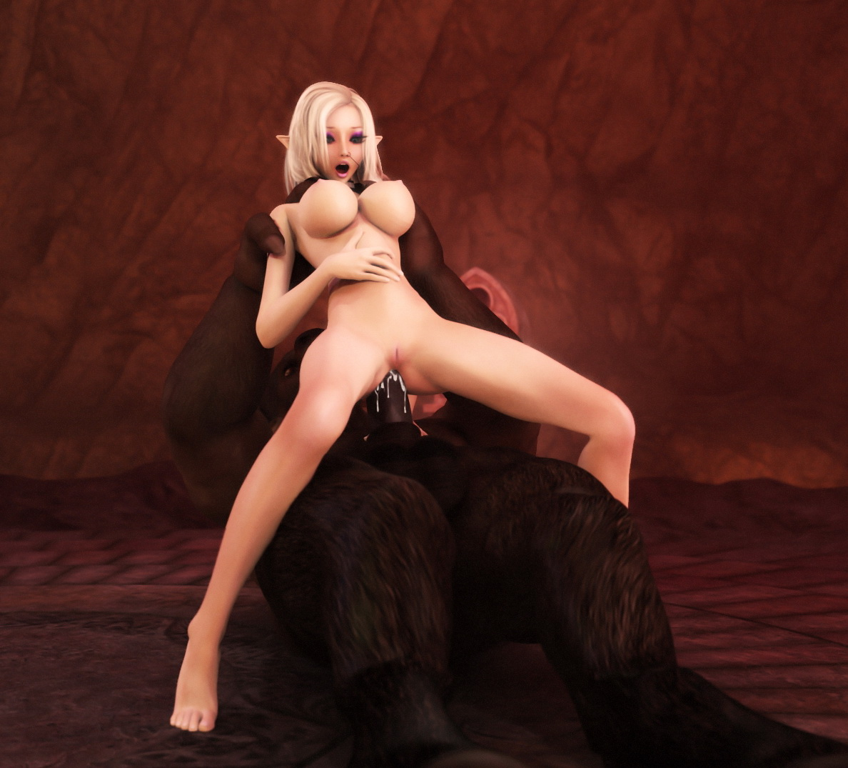 Porn blond elves erotic photo