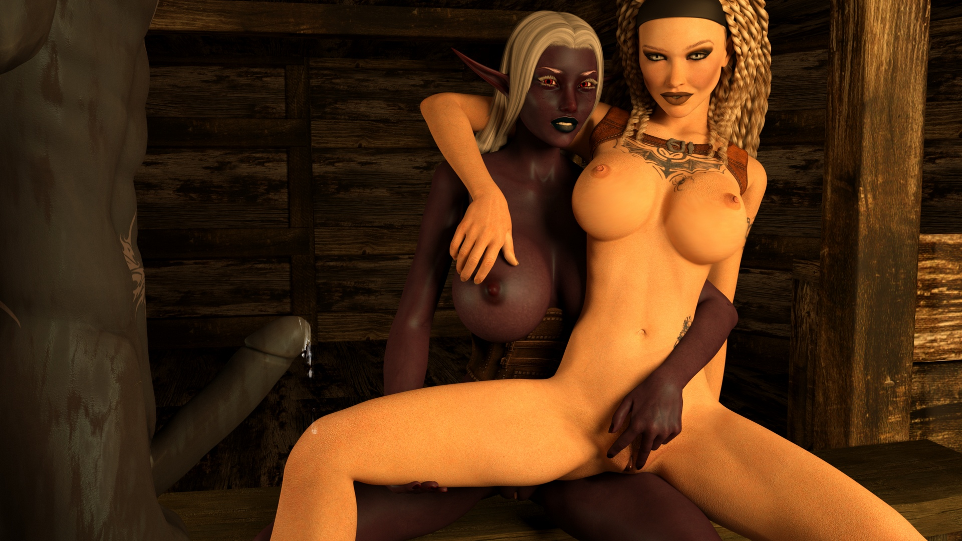Fucking a hot 3d elf sex vids