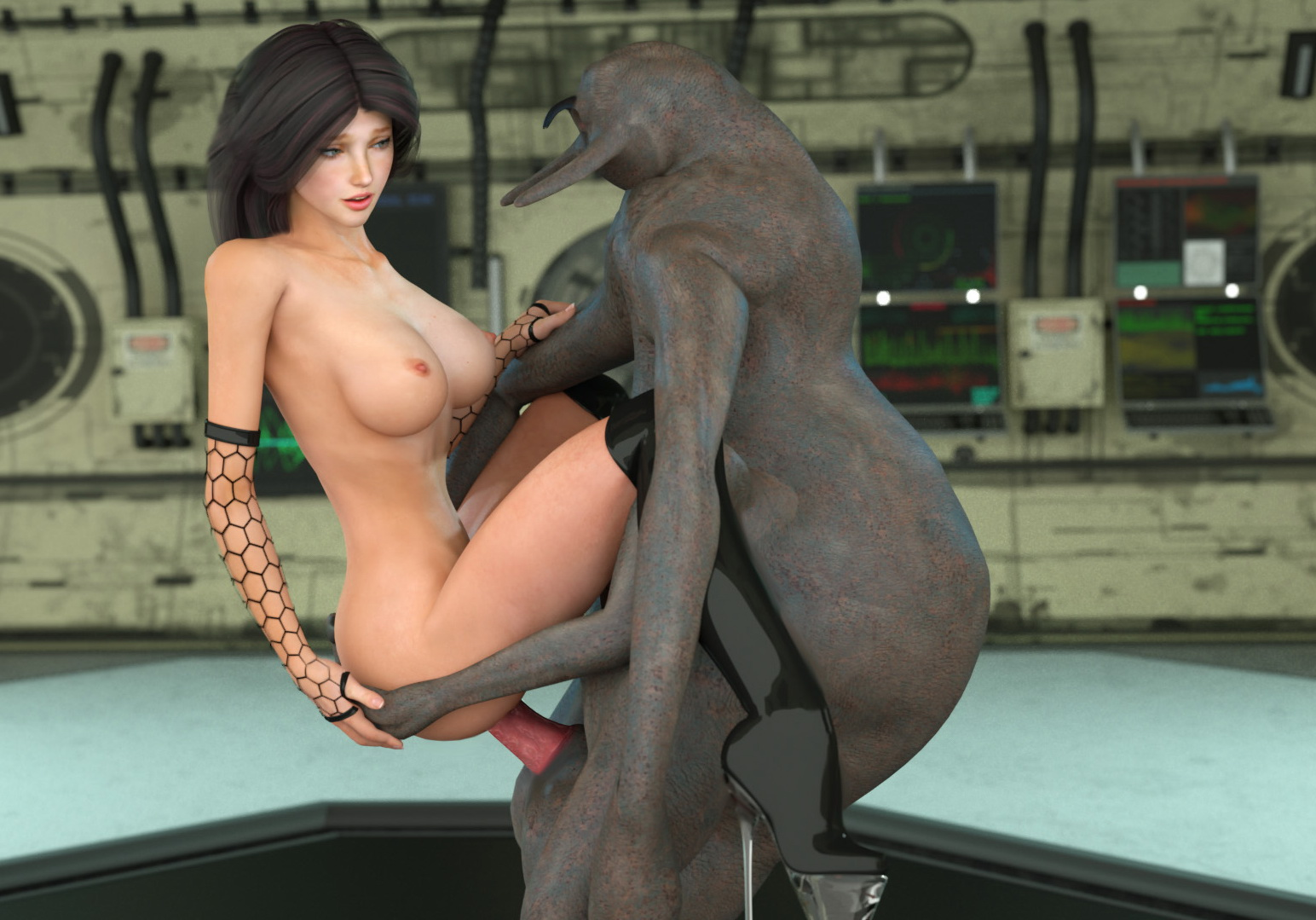 Daz 3d animation naked naked scene