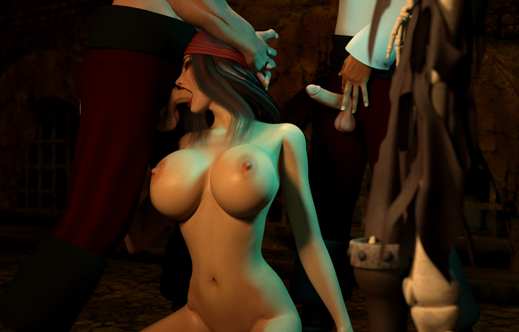 Hot nude 3d pirate girl hentay images