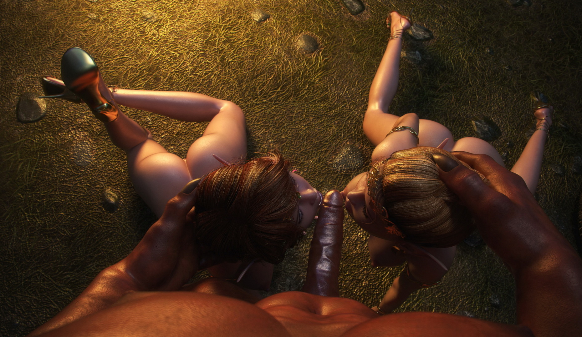 Orcs fuck elven princess porn photo